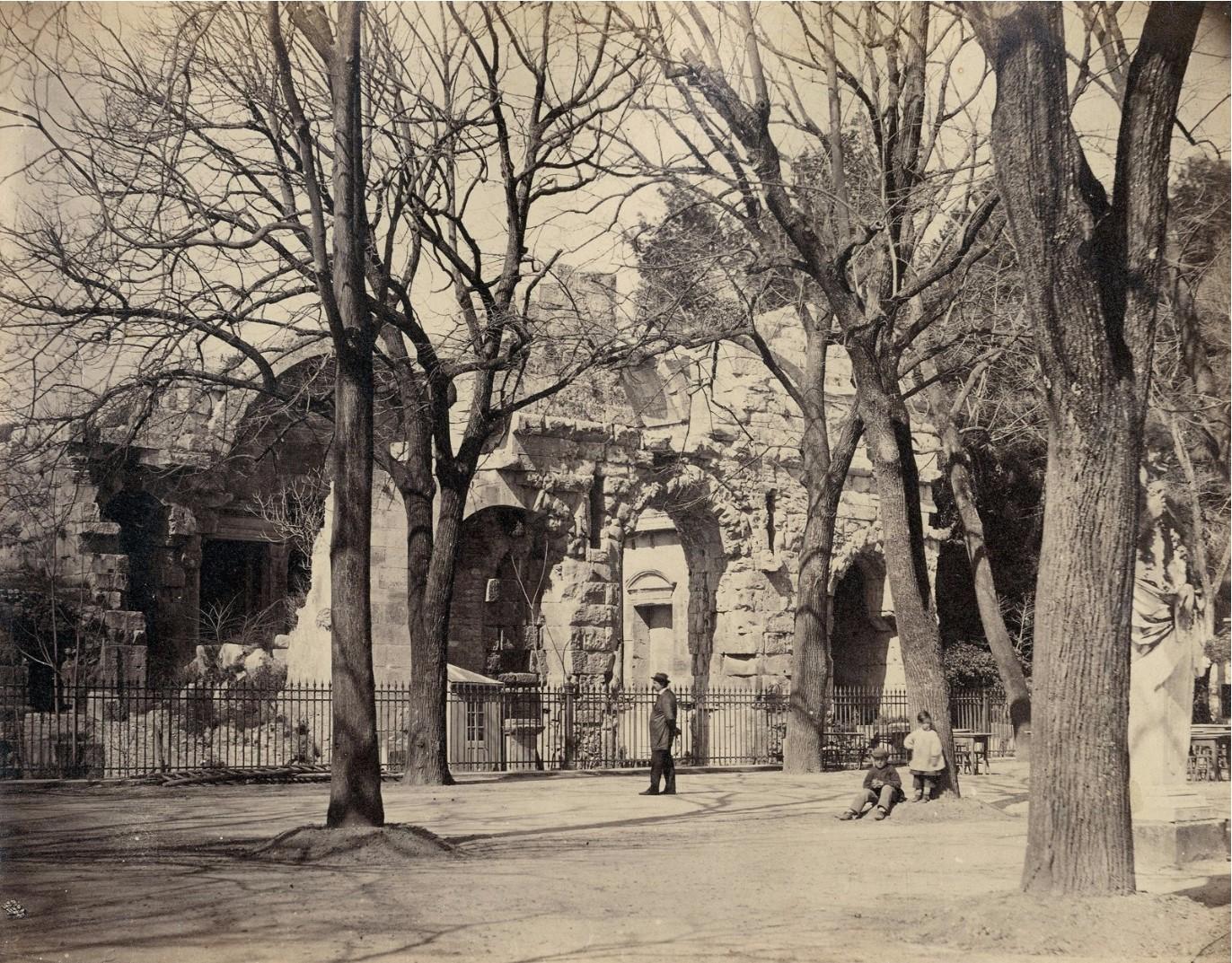 1860. Ним. Храм Дианы