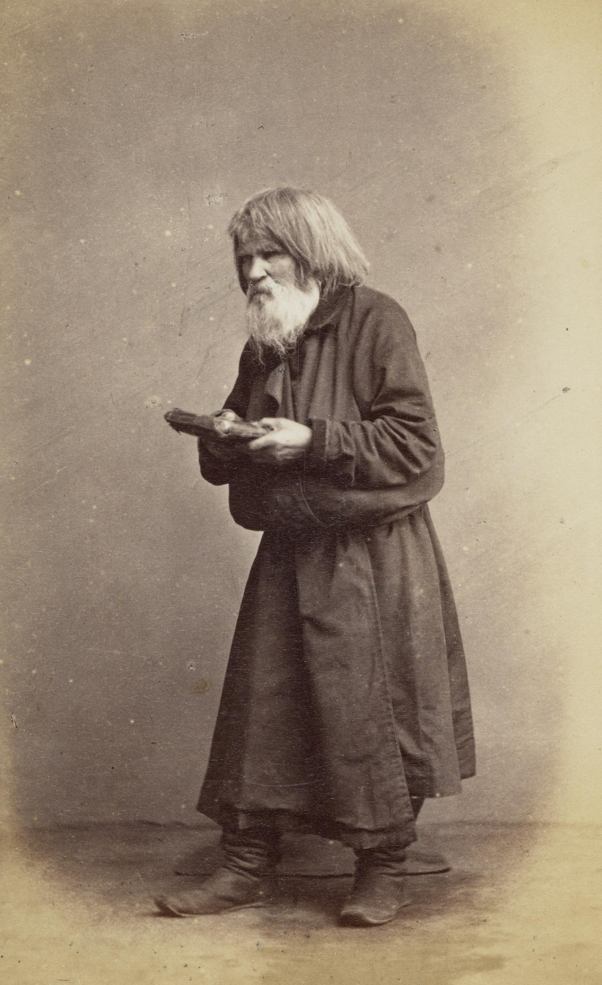Старовер с книгой