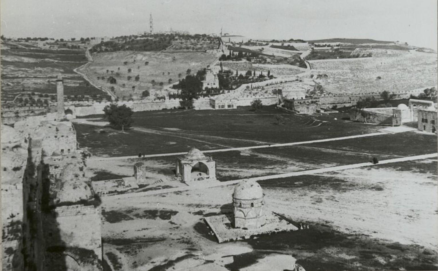 Иерусалим. Вид с Антониевой башни