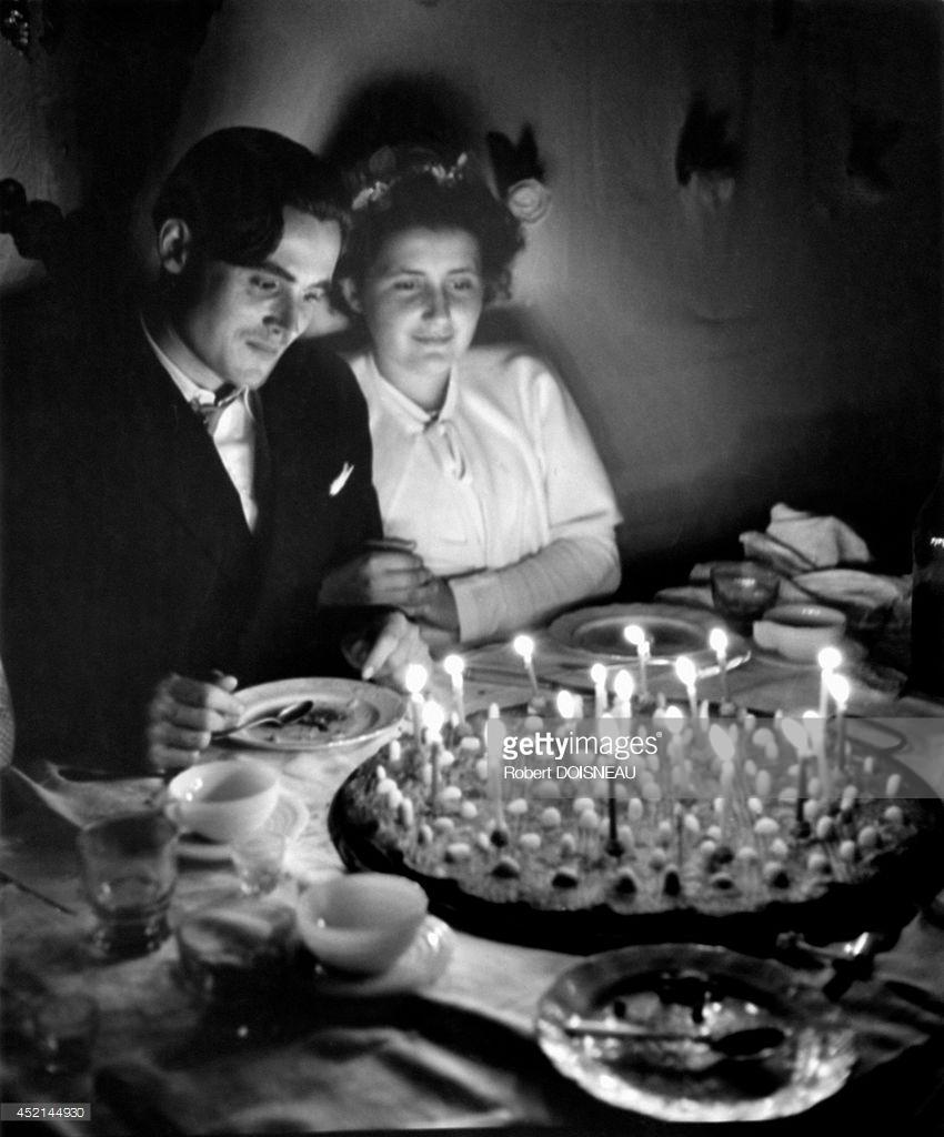 1951. Молодожены в Сен-Савене