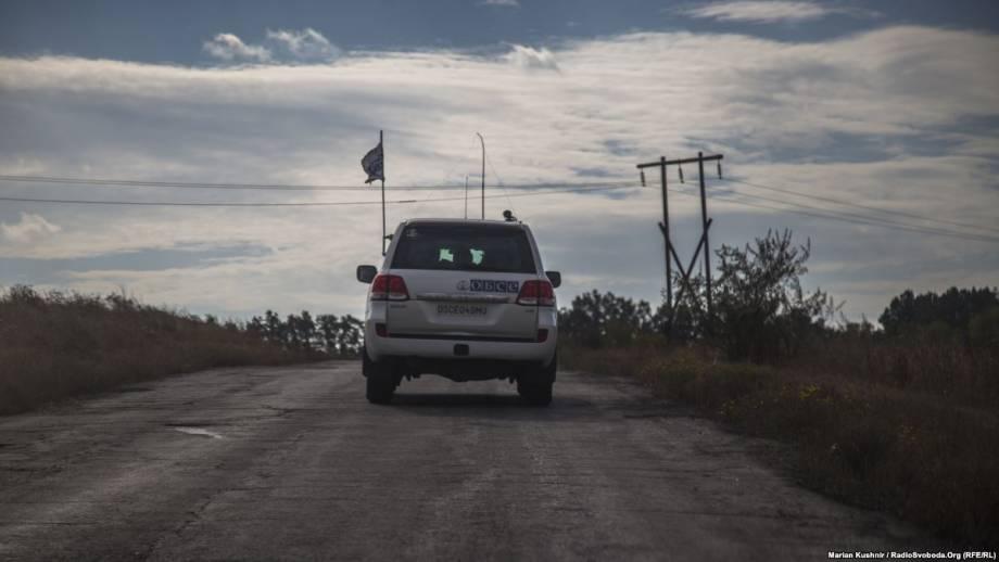 ОБСЕ: боевики угрожали наблюдателям на Донбассе