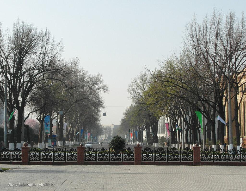 Проспект Амира Темура, Ташкент 2018