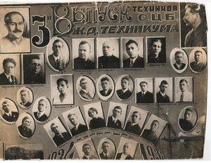 1938 г. Куйбышевский ж-д техникум.