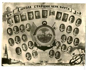 1939 г. Школа старшин Черноморского флота