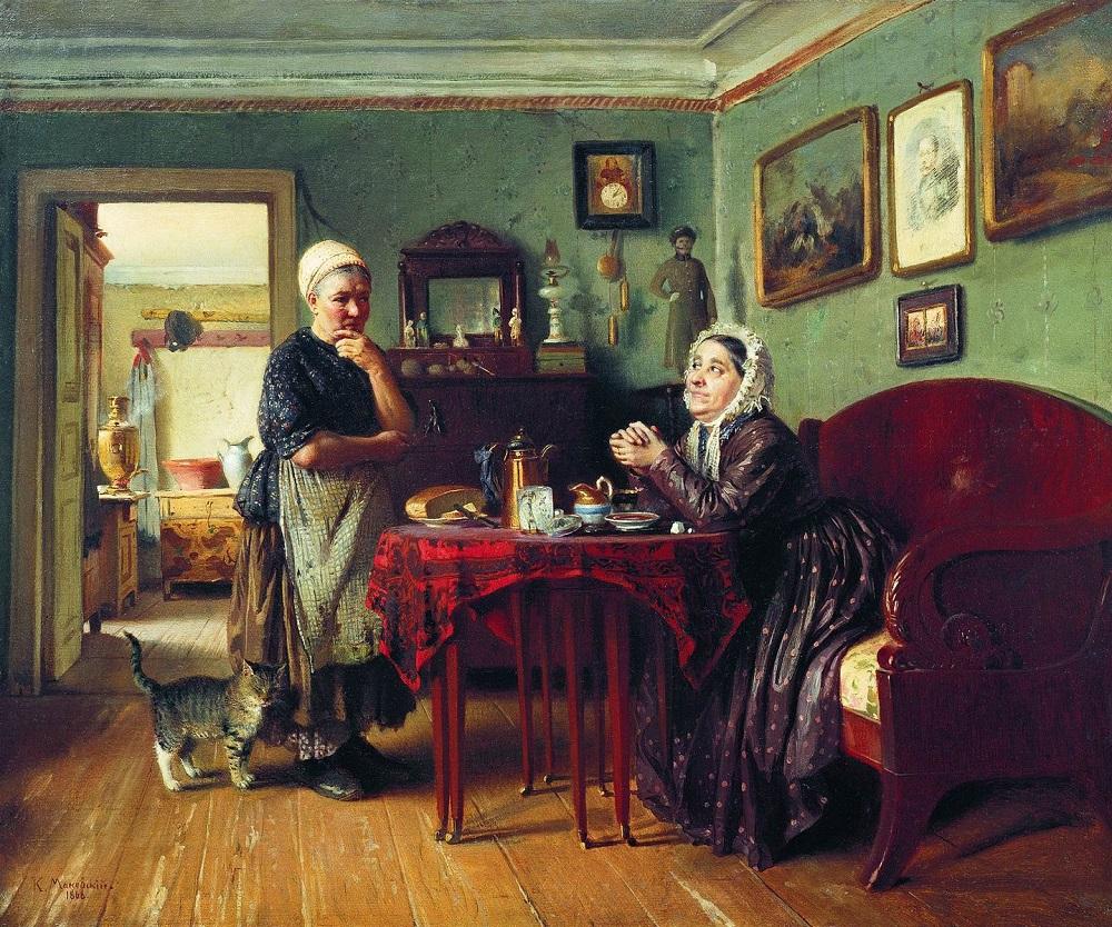 Разговоры по хозяйству. 1868.