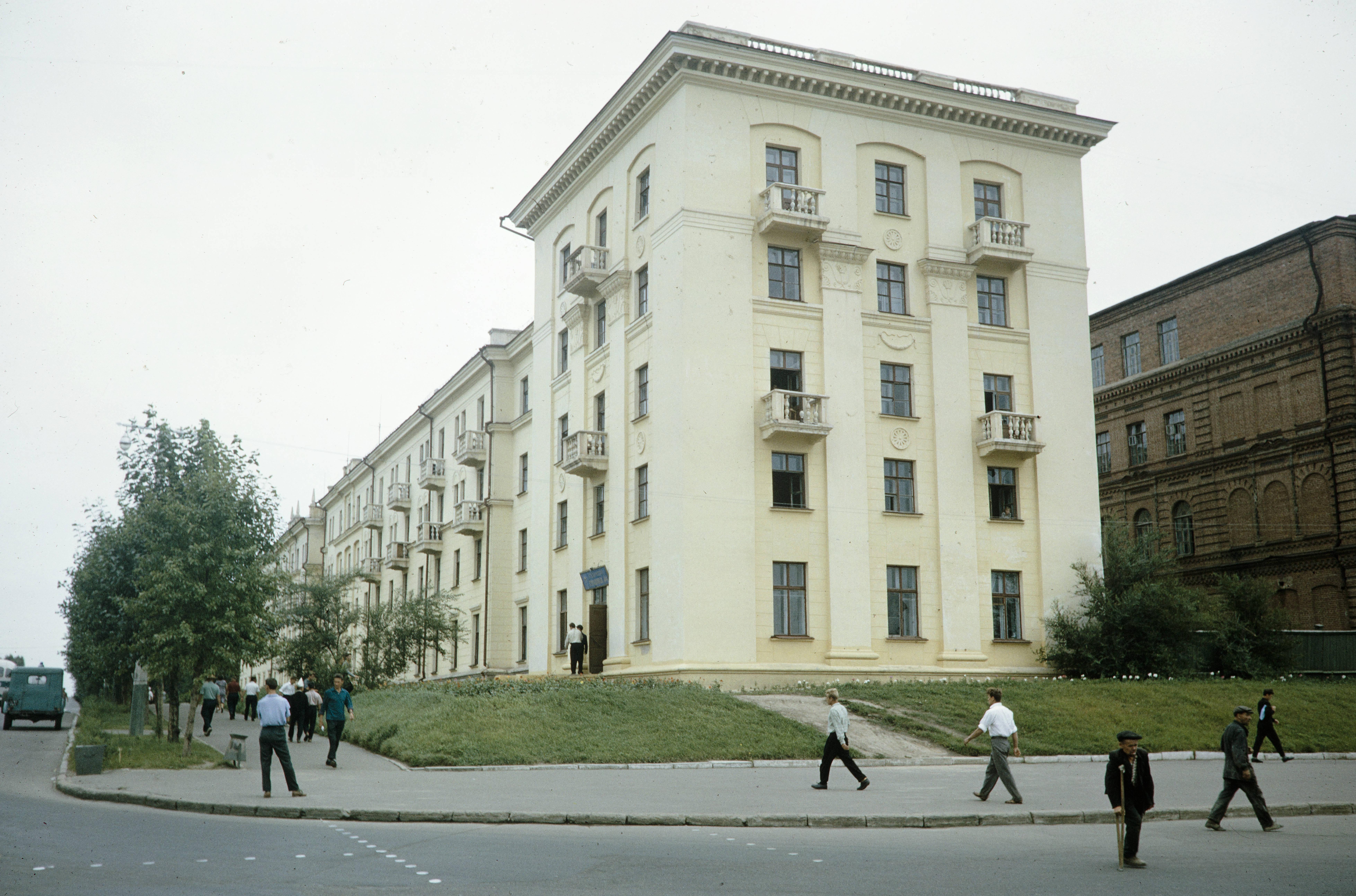 Столовая №4 Дальневосточного государственного медицинского университета