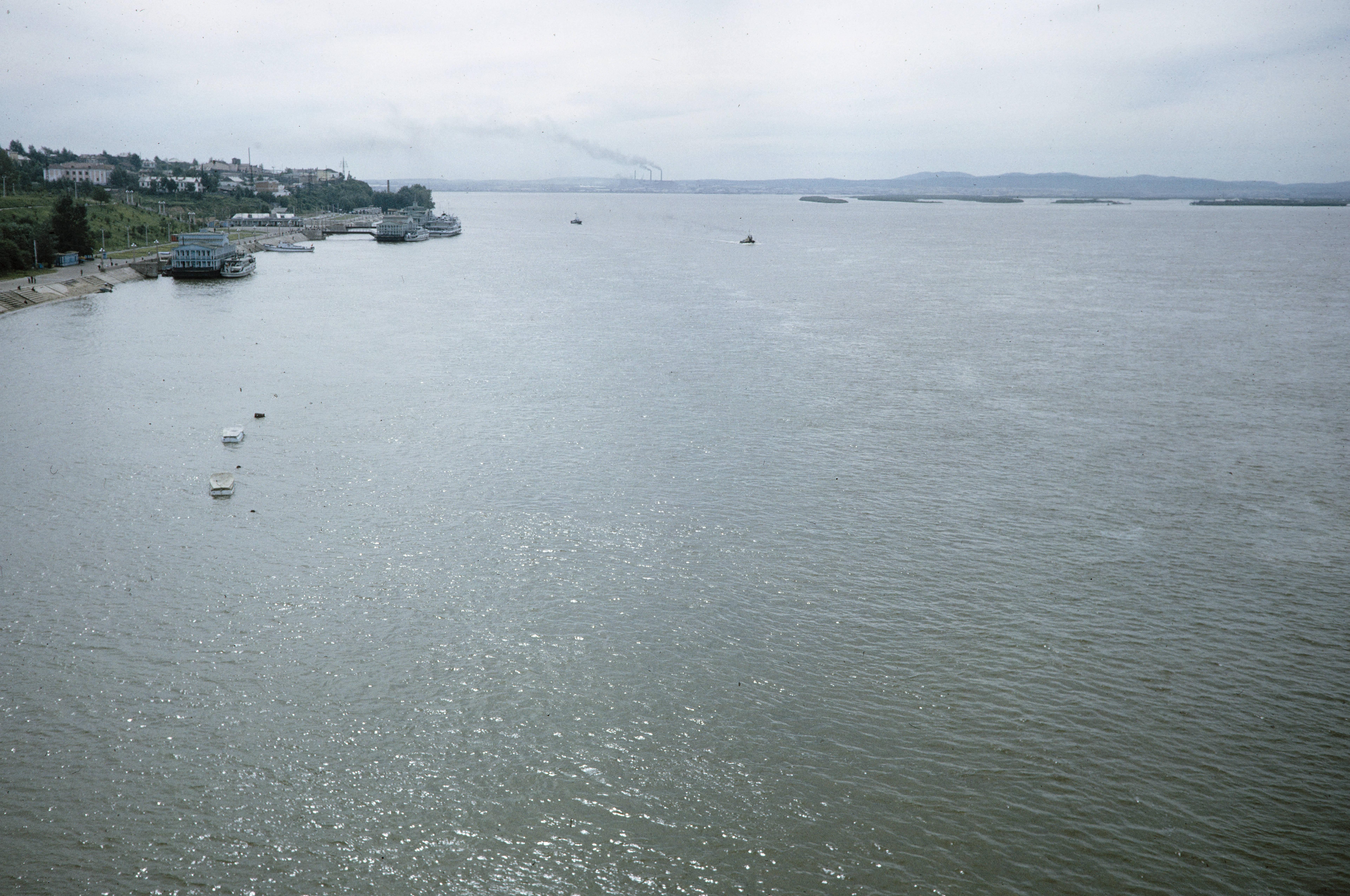 Вид на реку Амур