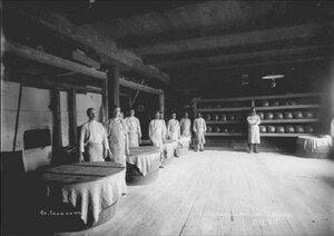 1890. Хлебопекарня Корсаковской тюрьмы.