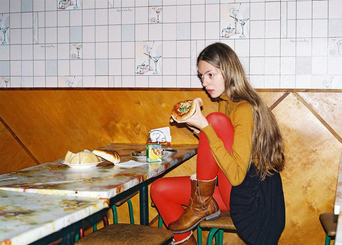 Ukrainian schoolgirl