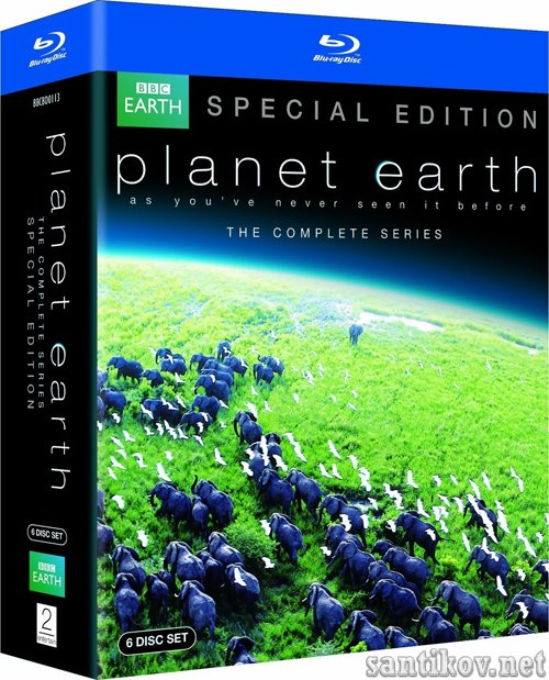 BBC: Планета Земля / Planet Earth (2006/Blu-ray)