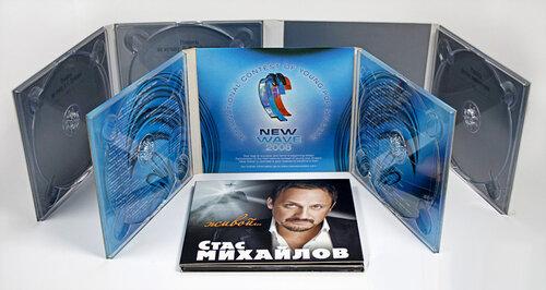 Печать буклетов для cd