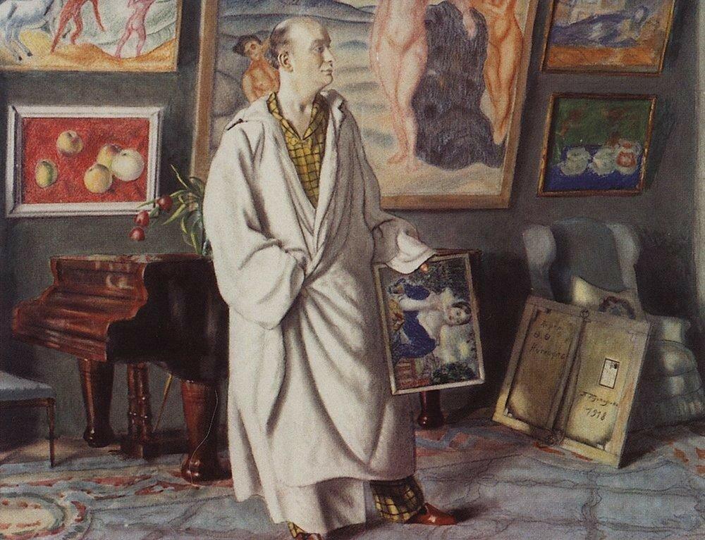 Портрет Ф.Ф.Нотгафта (Коллекционер). 1918.jpg