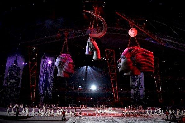 Открытие Олимпиады в Сочи