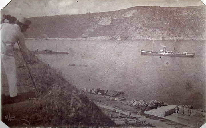 Острв-крепость Мамула, начало 20 века