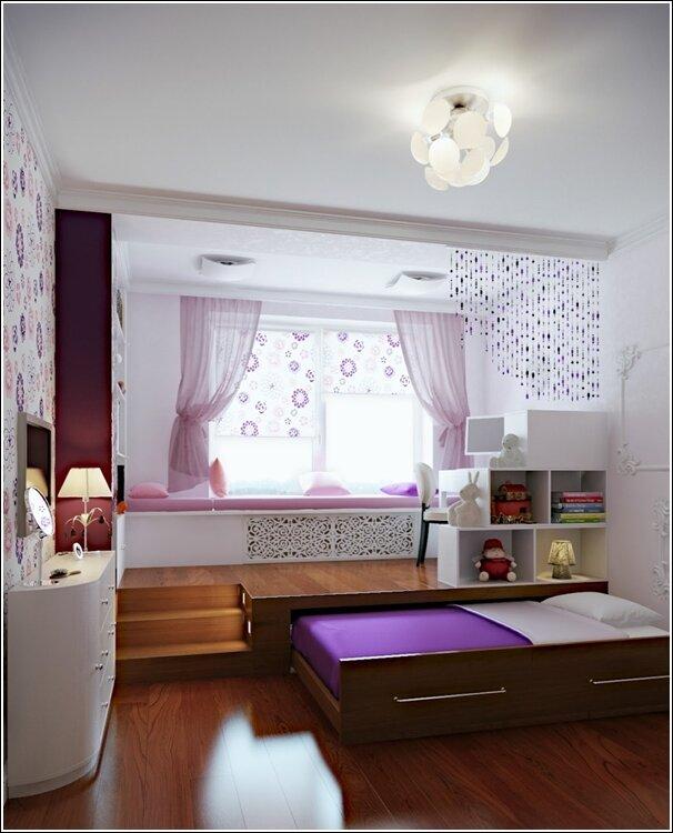 Экономия пространства в дизайне комнат