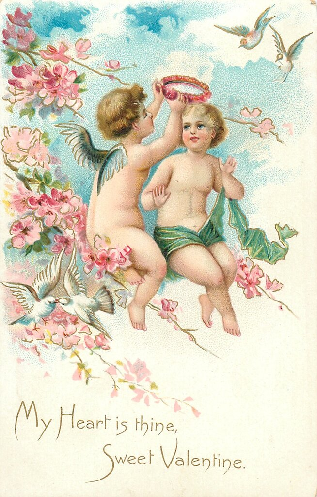 Амуры открытки