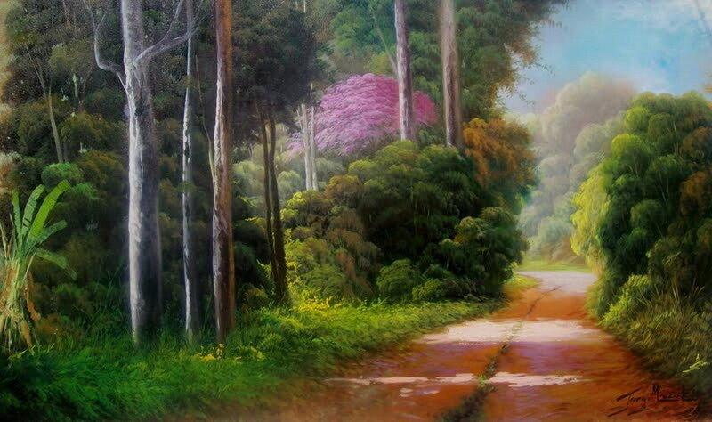 Если хочется ярких красок! Бразильский художник самоучка Jorge Maciel