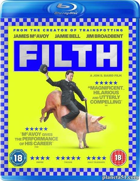 Грязь / Filth (2013/BDRip/HDRip)