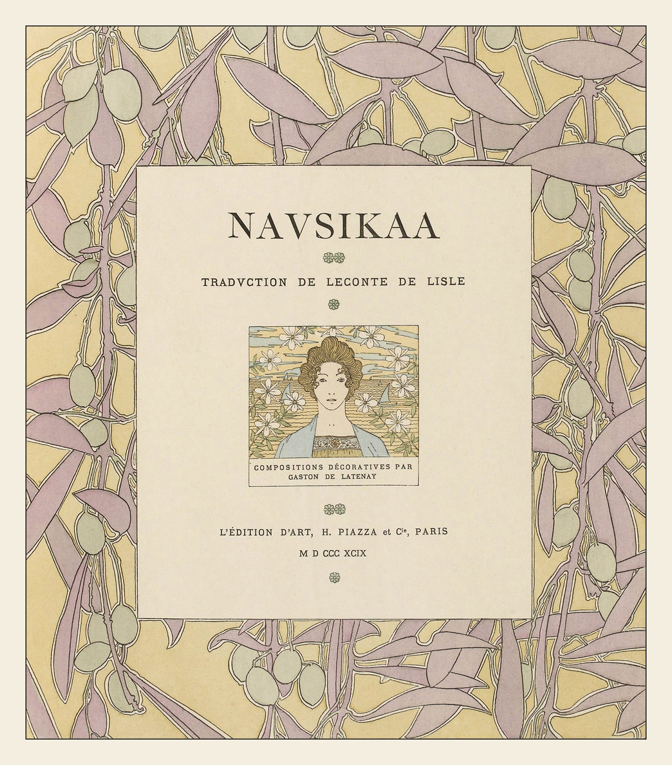 Gaston de Latenay, Nausikaa