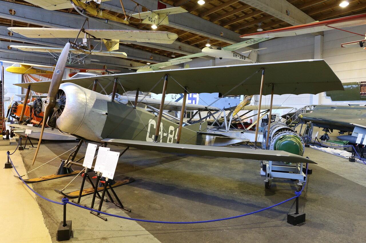 Авиамузей Хельсинки-Вантаа. Учебный самолёт Coudron C.60