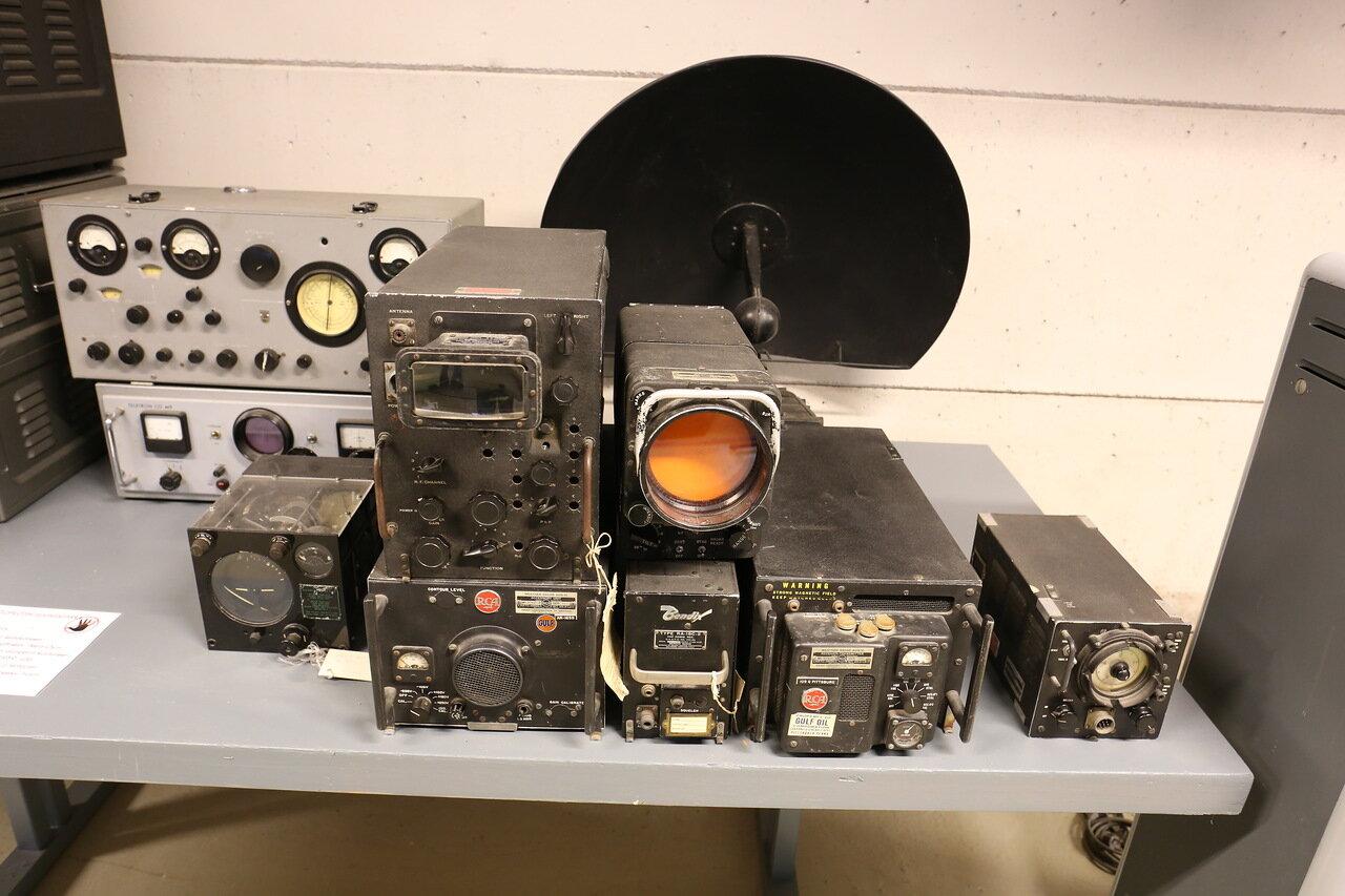 Авиамузей Хельсинки-Вантаа. Зал гражданской авиации. Радиооборудование. Finnish Aviation Museum. Radio equipment