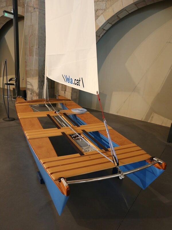 The Maritime Museum of Barcelona. catamaran