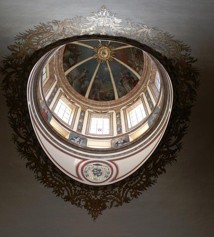 Tarragona Cathedral. The chapel of the Holy communion. Capilla del Santísimo. Tarragona Cathedral