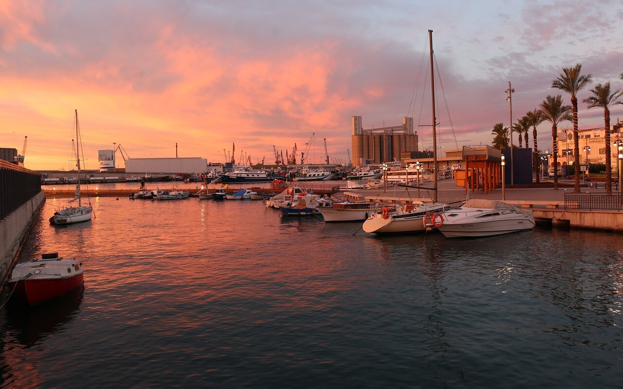 Tarragona. Seaport