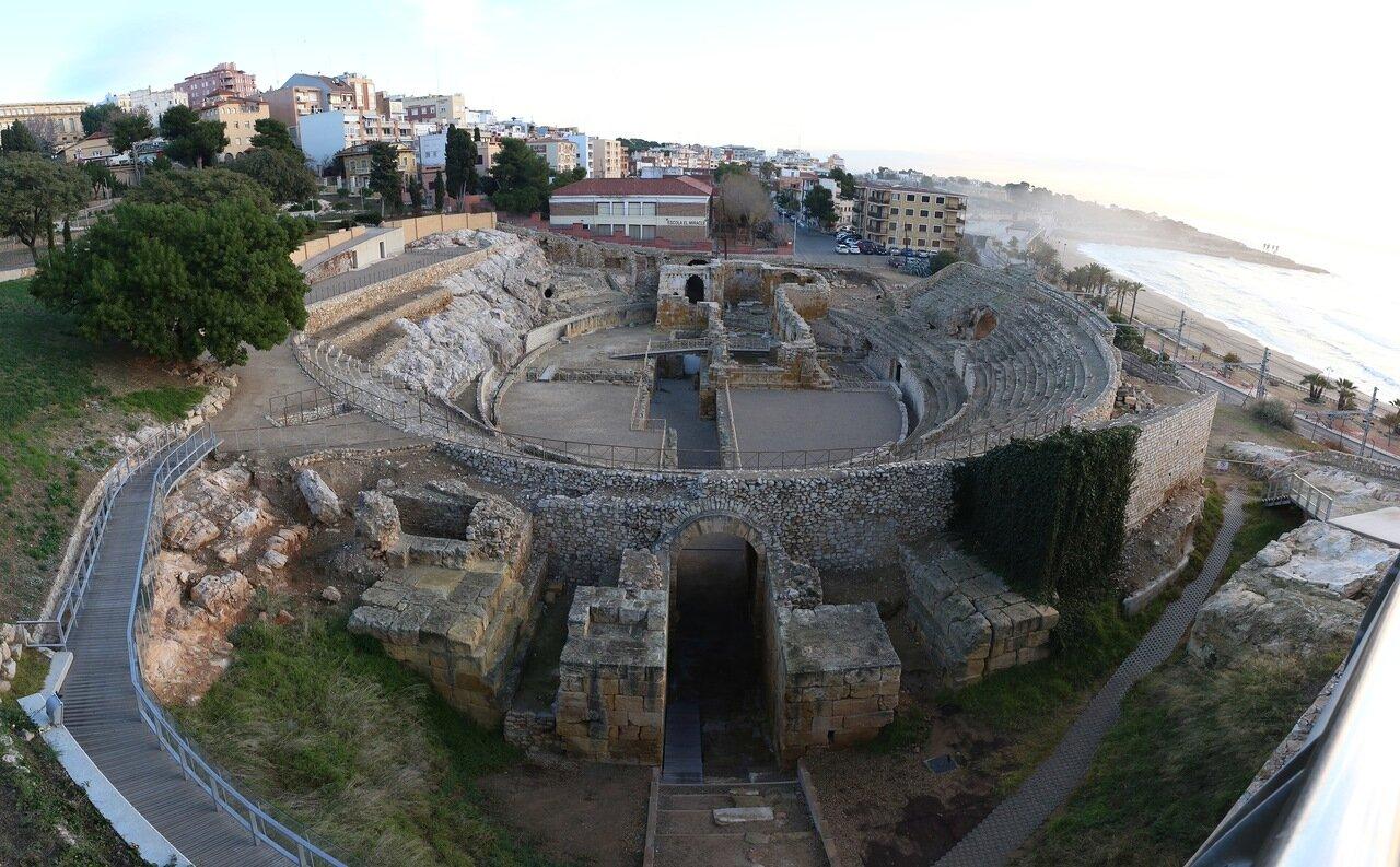 Таррагона. Римский амфитеатр. Teatro romano de Tarraco