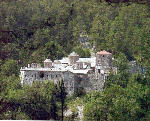 Монастырь святого Дионисия Олимпийского