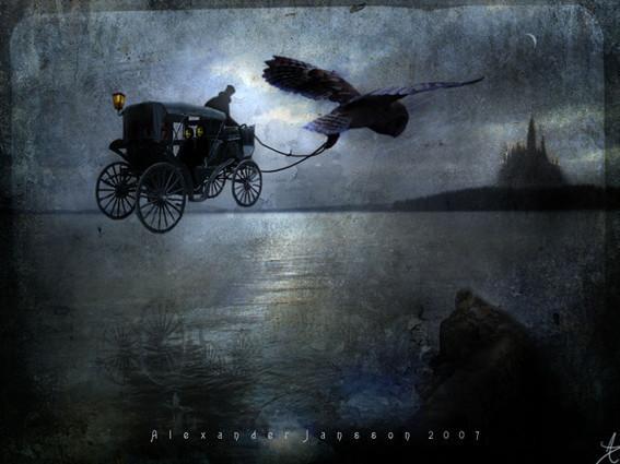 Сказочная скандинавская магия в иллюстрациях Александра Дженсона / Alexander Jansson