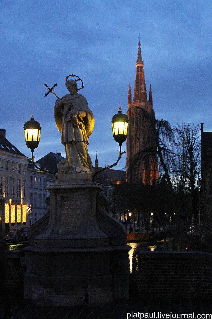 Вечерний Брюгге