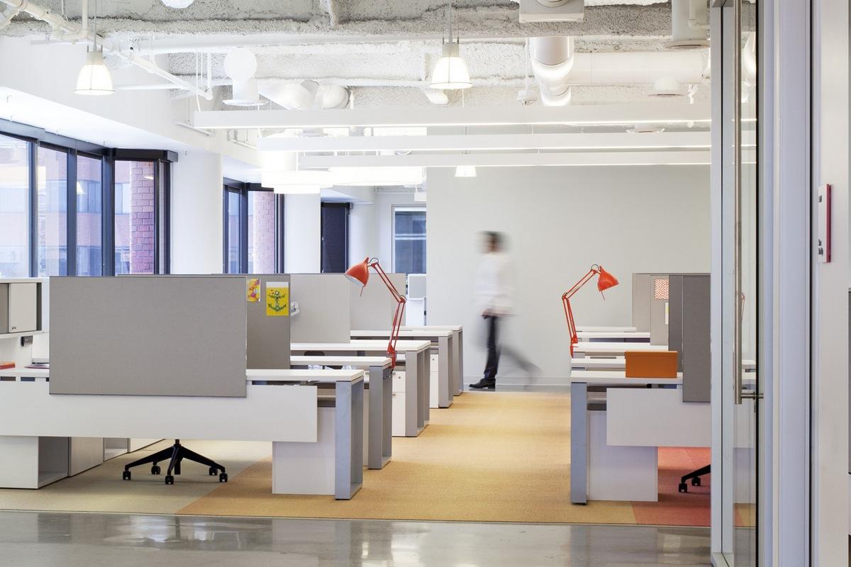 офис компании Campari America, штаб квартира Campari America, офисы крупных компаний, лучшие офисы мира, дизайн интерьера офиса, интерьер open space
