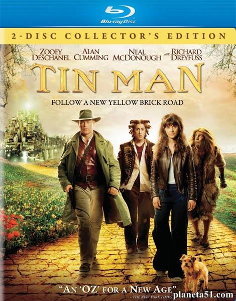 Заколдованное королевство / Железный человек / Tin Man (2007/HDRip)