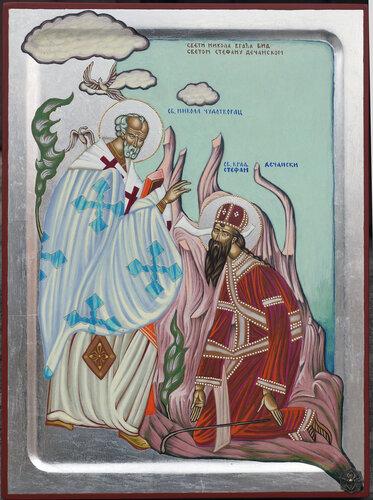 Бобан Милькович. Сербия. Икона