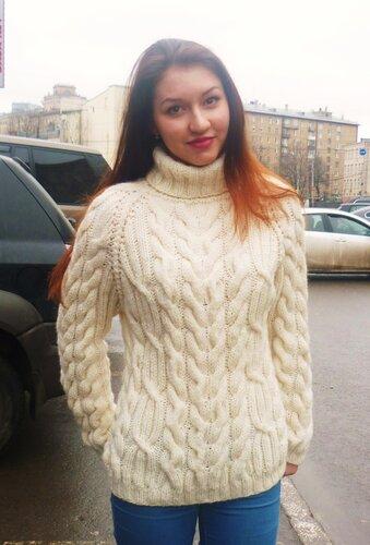 свитер вязание на заказ