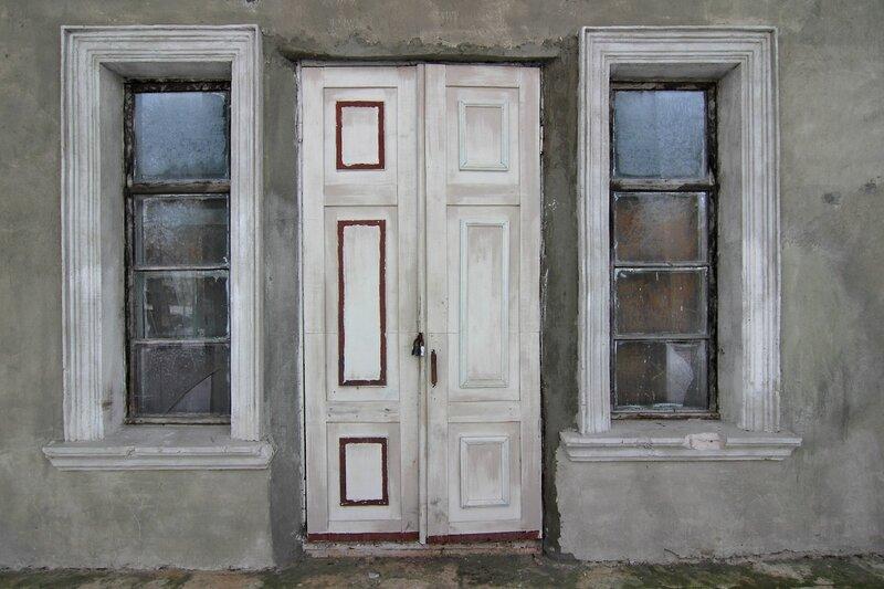 Парадный вход в усадебный дом, Никольское-Обольяниново