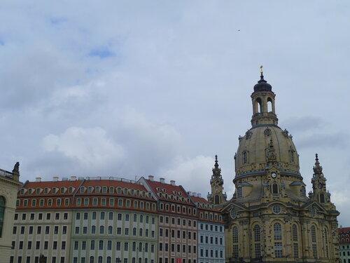 Германия, Дрезден - церковь Фрауэнкирхе (Germany, Dresden – Frauenkirche)