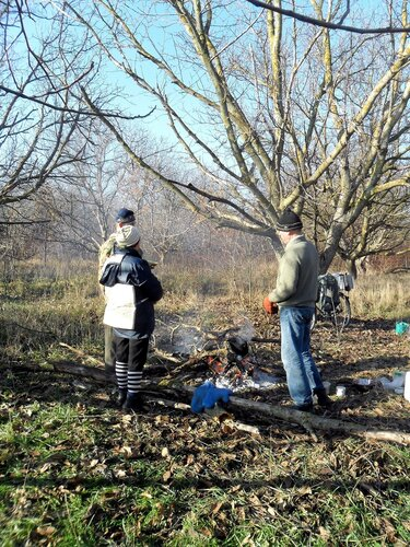 В лес предновогодний. Велотуризм. 2013-12-25