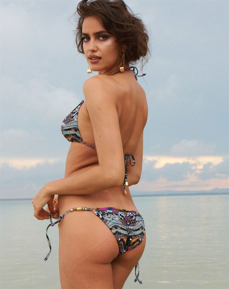 Irina Shayk / Ирина Шейк в купальниках Beach Bunny Swimwear spring 2014