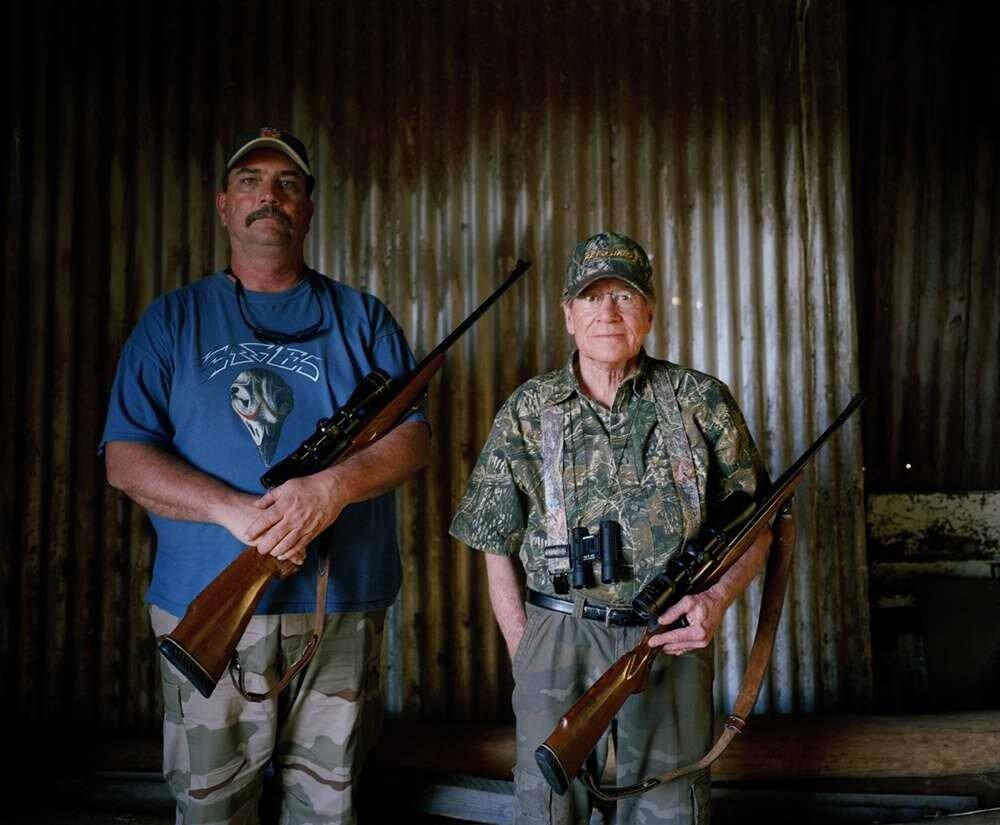 Охотники отец и сын, Южная Африка