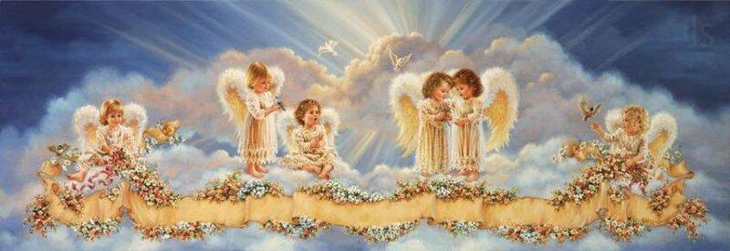 художник Dona Gelsinger. Ангелы.