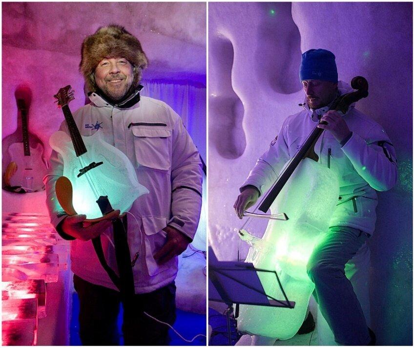 Тим Линхарт инструмент из льда