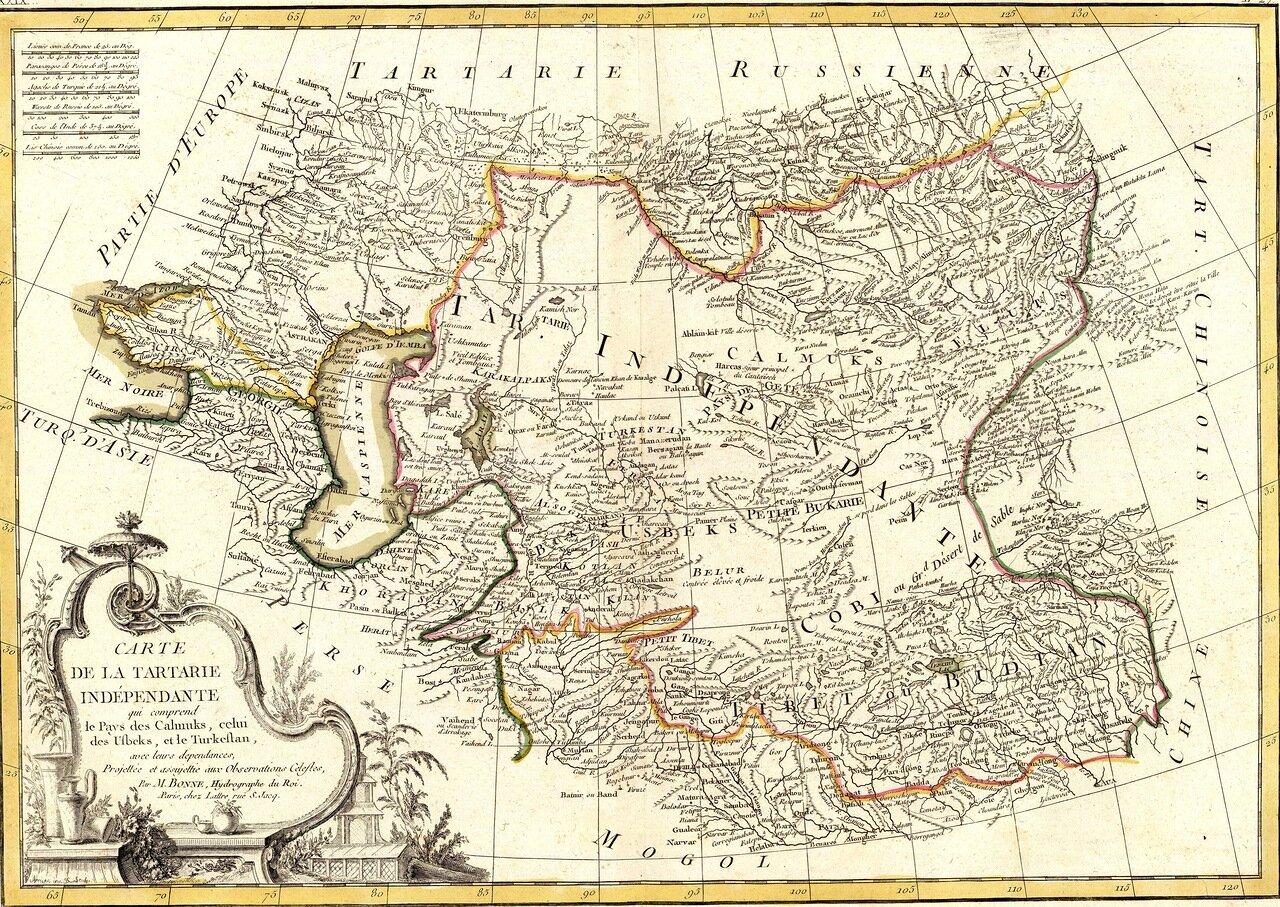 1791. Карта Тартарии