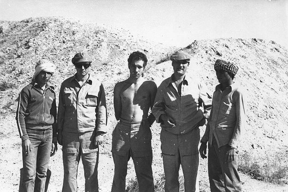 1981.Сирия. Карпов, Бескаравайный и Фещенко