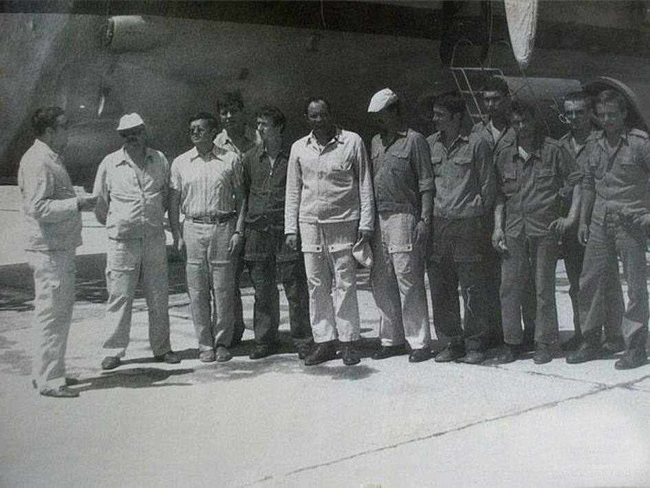 1981. Сирия. Шауляйский экипаж