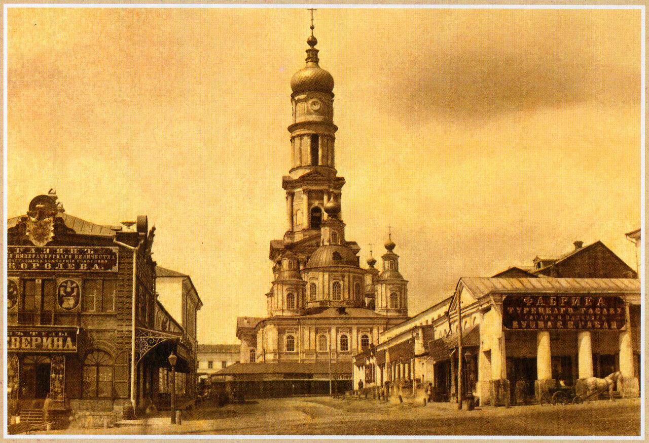 Вид на Успенский Собор. 1850-е