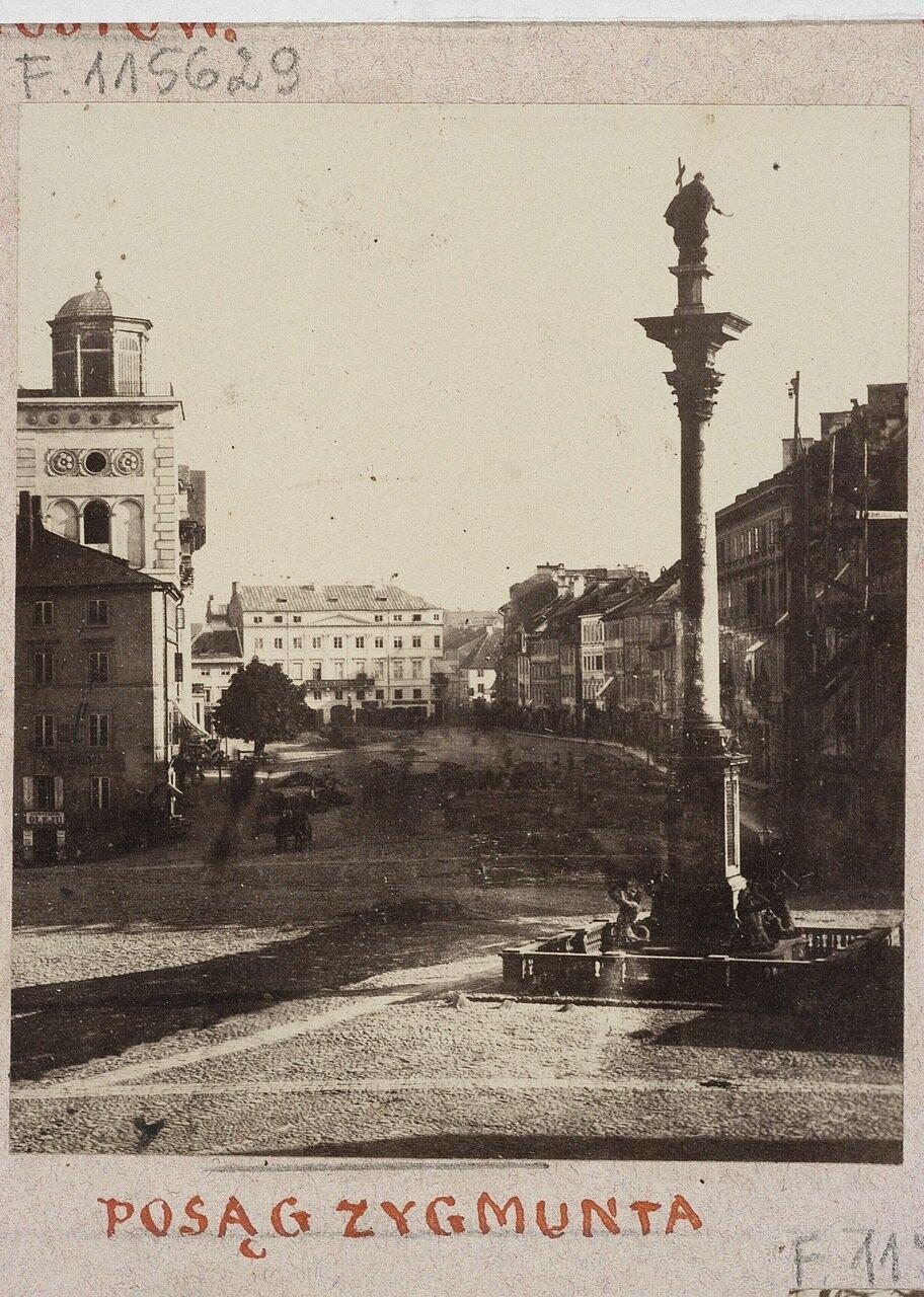 Статуя Сигизмунда. 1862
