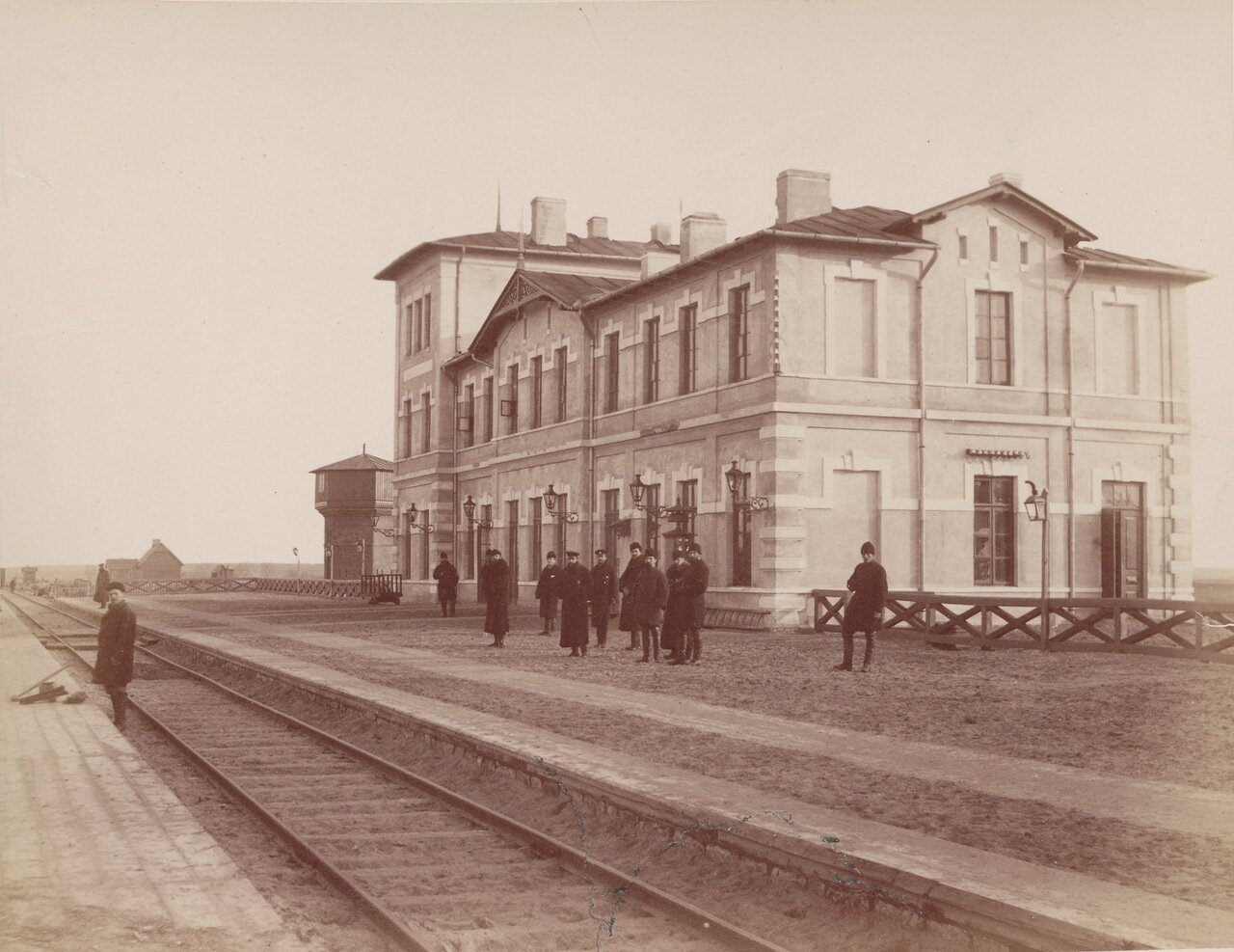 Вокзал в Олькуше