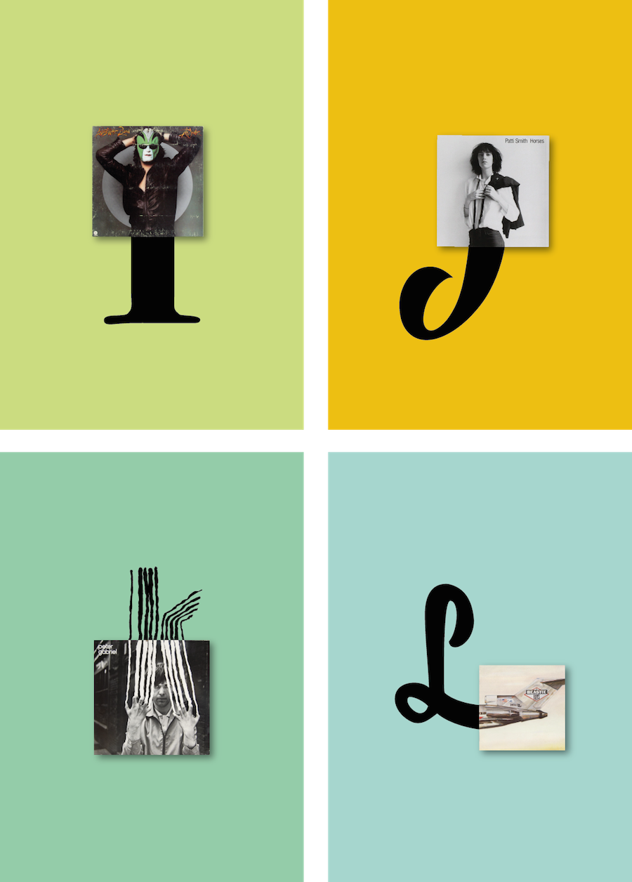 The Vinyls Alphabet